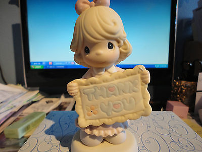 Precious Moments Thank You Sew Much Figurine Brand New in Box # 587923