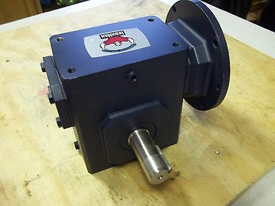 NEW GROVE GEAR BMQ824 / CAT# GR8240165.00 WORM GEAR SPEED REDUCER ratio 50:1