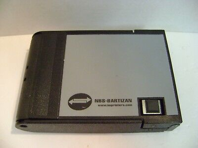 Vintage Nbs-bartizan Manual Credit Card Imprinter Sales Machine Portable Backup