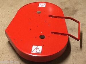STEEL DECK PAN WESTWOOD T1200 GAZELLE LASER 1012 1020 TRACTOR NEW CUTTER SHELL