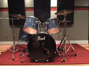 Drum Pearl Export bleu