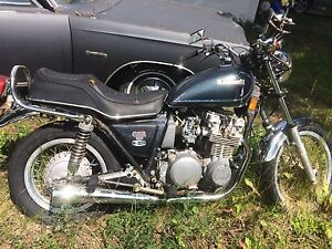 Motorcycle for sale as is.  1970s Kawasaki 4cylinder.