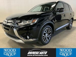 2018 Mitsubishi Outlander GT CLEAN CARFAX, GT AWD, 7 PASSENGER