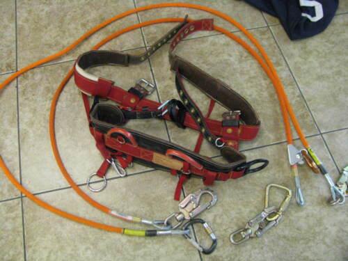 Pole/Lineman WEAVER 1038 MD Climbing Belt  VERY LIGHTLY USED