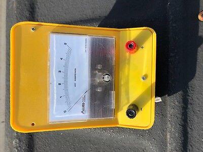 Vintage Allied Fisher Scientific Electricity Tester Amp Meter