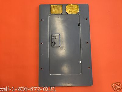 Used 125 Amp American Switch Bryant Westinghouse Panel Cover 24 Space