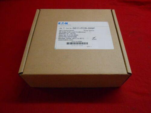 EATON S611-PCB-099P PUMP CONTROL S611 CONTROL BOARD  99AMPS - NEW IN BOX