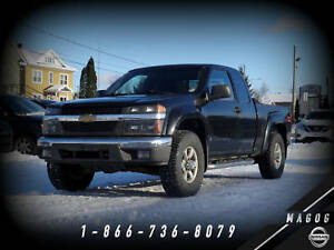 2007 Chevrolet Colorado LT + 4X4 + CABINE CLUB + BACK RACK + A/C