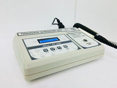 Portable Ultrasound Body Pain Relief Machine 3 Mhz Therapy Ultrasound Machine