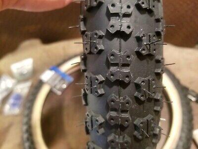 "CST Comp 3 BMX Tyres 2x PAIR 20/"" x 1.75/"" Black w Skin Wall Tan Kids Bike Tir"