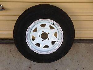 14 inch trailer wheel & LT tyre Kedron Brisbane North East Preview