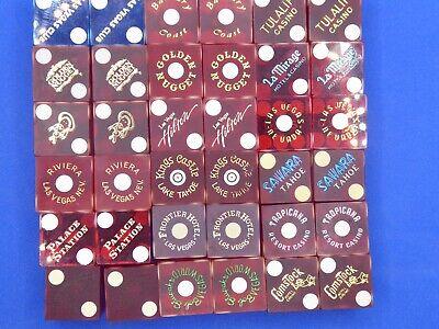 Casino dice, 18 pair