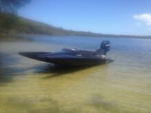 SUPER FAST BOAT ,MERCURY 250 PRO XS . TANDEM TRAILER Oyster Cove Kingborough Area Preview