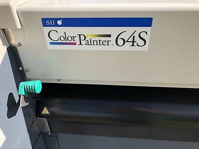 Sii Color Painter 64s Large Printer Colorpainter Banner Graphics Free Shipping