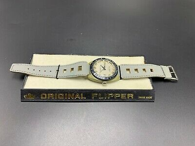 Eloga Flipper Fortis Vintage 1970's  Men's Watch