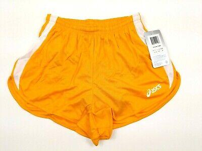 1/2 Split Shorts (ASICS Womens Medley 1/2 Split Shorts Yellow Size Small TF755 0401)