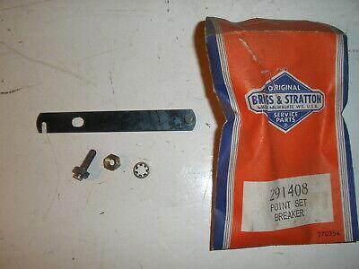 Briggs Stratton Gas Engine Breaker Point Set 291408 New Old Stock Vintage