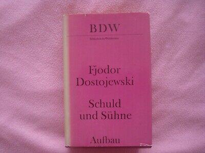 Fjodor Dostojewski - Schuld und Sühne - Aufbau-Verlag Berlin und Weimar 1979 ! gebraucht kaufen  Rackwitz