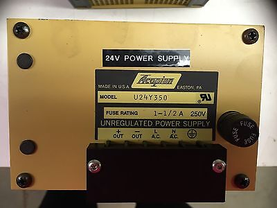 Acopian U24y350 24volt Unregulated Power Supply