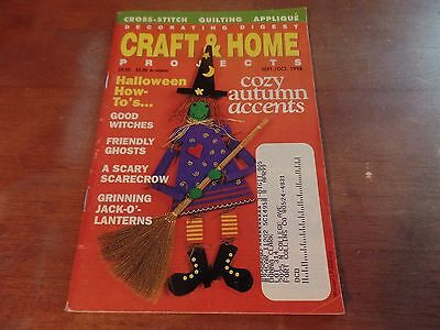 Sep/Oct 1998 Decorating Digest Craft & Home Projects Magazine #2026