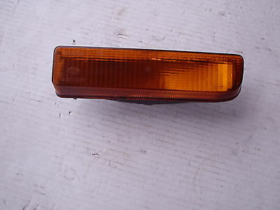 Ford Fiesta MK1 Nearside (L.H) front indicator lamp lens