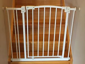 Perma child safety gate (2 available) + extension up to 90cm Eltham Nillumbik Area Preview