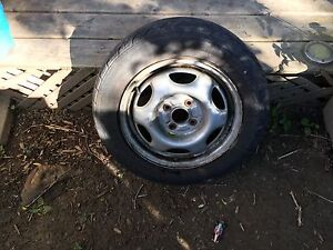 4 uniroyal tiger paw tires and rims