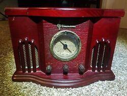 Emerson NR51RW Antique Clock Radio CD Player