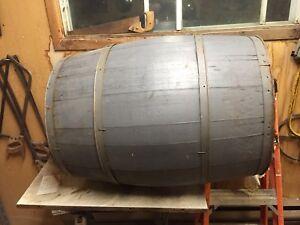 Barrel make an awesome garden planter