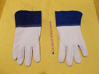 West Chester Ironcat Tig Welding Gloves Leather Welder Goatskin 6142 Large