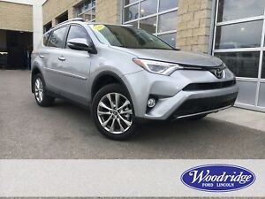 2018 Toyota RAV4 Limited ***LOW KM'S*** 2.5L, NAVIGATION, SUN...