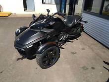 2016 canam spyder f3-s special edition triple black free on roads Taminda Tamworth City Preview