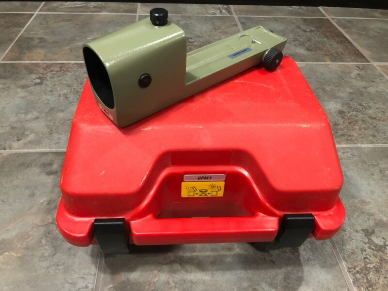 GPM3 Parallel Plate Micrometer For DSZ2 NA2 NAK2 Level And Case
