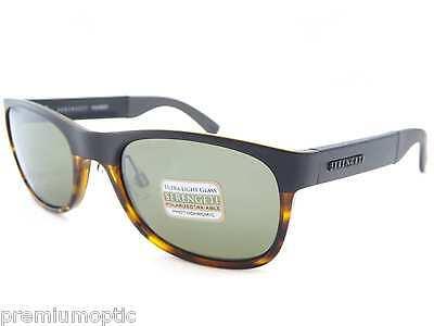 e8616c4ba490 SERENGETI polarized photochromic PIERO sunglasses SATIN BLACK TORT/ Green  7640