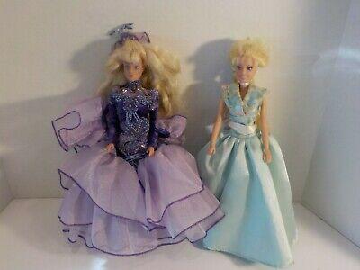 "N Vintage TOTSY T.B.K. 1995 lot of 2 DOLL 11"" 12"" barbie Scale"