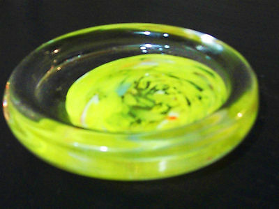 Kupfer-glas (Ablageschale Entwurf Kupfer-Glas - Atelier Yannick Hoeltzel- -meister Glas-)