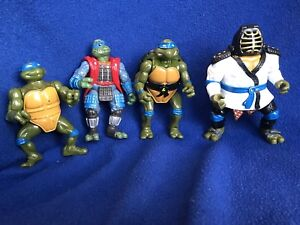 Vintage lot of TMNT Leonardo figures