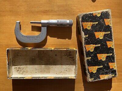 Vintage Brown Sharpe Micrometer