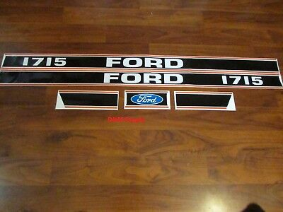 Ford Tractor Decal Set 1715 Stickers 1115-1568