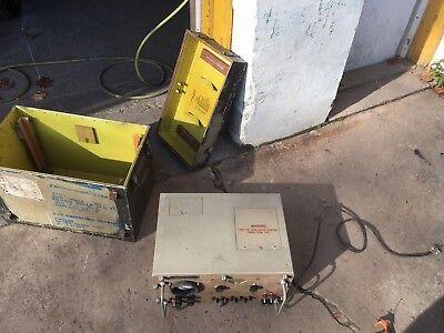 Vtg Us Airforce Military Signal Generator Radio Wave Meter Attenuator Ts-452bu