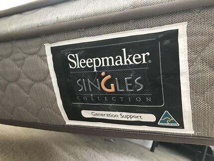 King single base & mattress