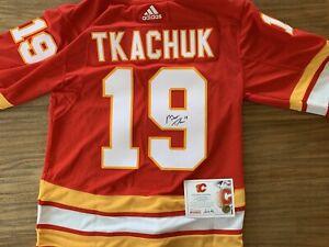 Matthew Tkachuk autographed retro jersey