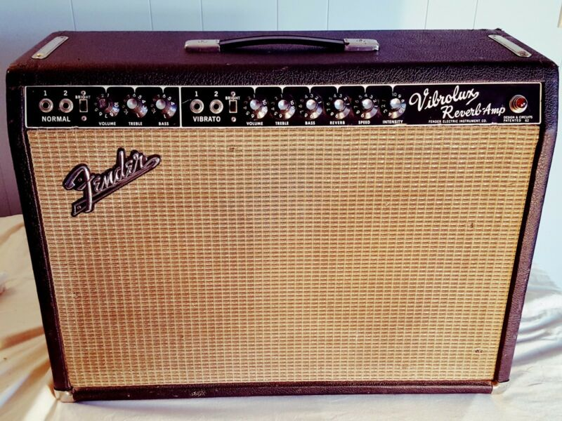 Fender Vibrolux Reverb 1965 w Anvil Case