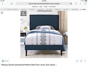 Twin Headboard with post BNIB - no bed frame