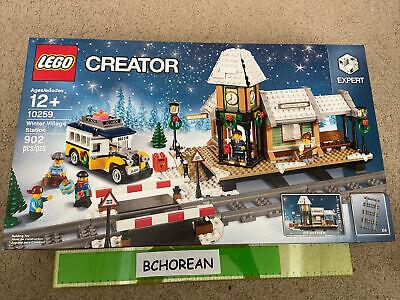 LEGO 10259 Creator Winter Village Station New Retired Set 902pcs Christmas
