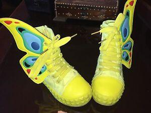Butterfly shoes , soulier papillon