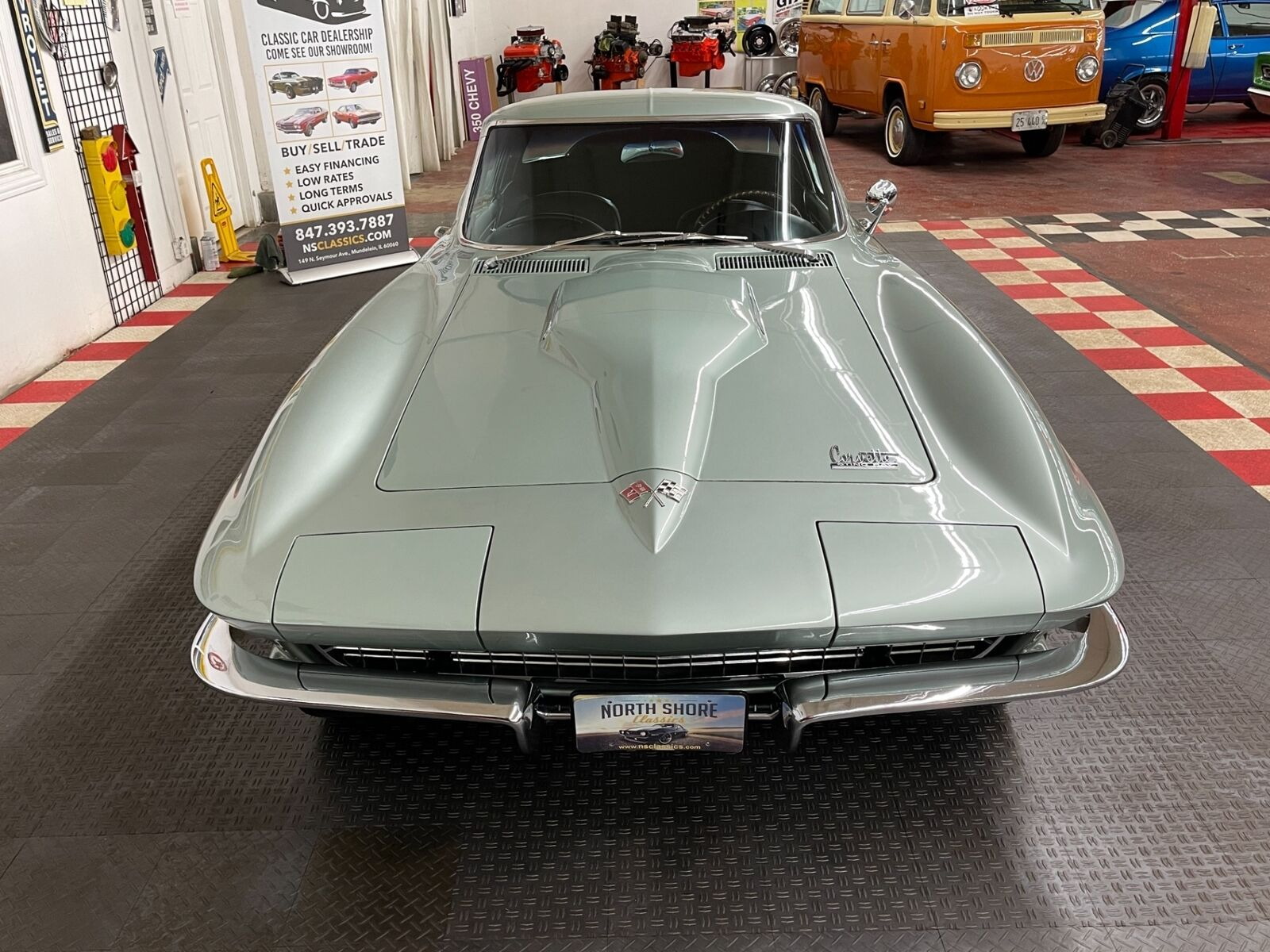 1966 Green Chevrolet Corvette Coupe  | C2 Corvette Photo 5