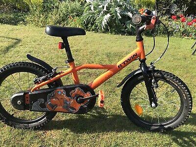 "btwin kids bike 16"" Robot 500"