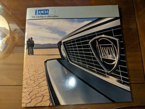 Lancia Coupe Sedan Scorpion HPE Dealer Brochure 1977