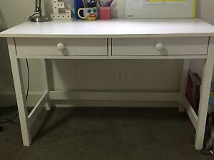 Kid's desk (white, 2 drawers) Riverview Lane Cove Area Preview